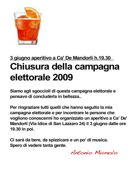 03.06.09 chiusura campagna elettorale