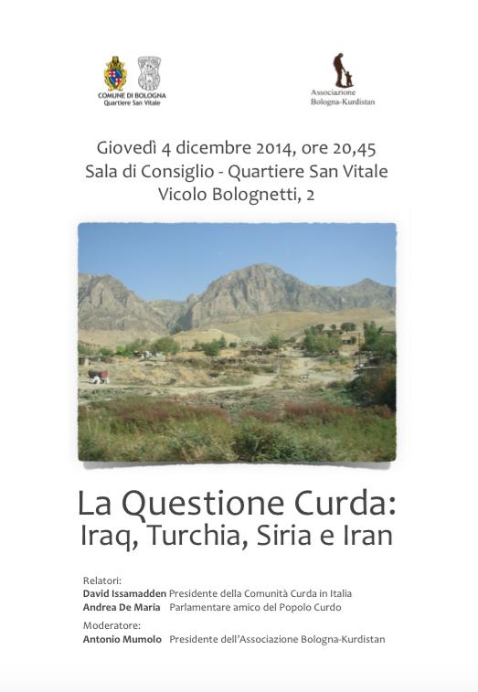 """04.12.14 Vicolo Bolognetti: """"La questione Curda"""""""