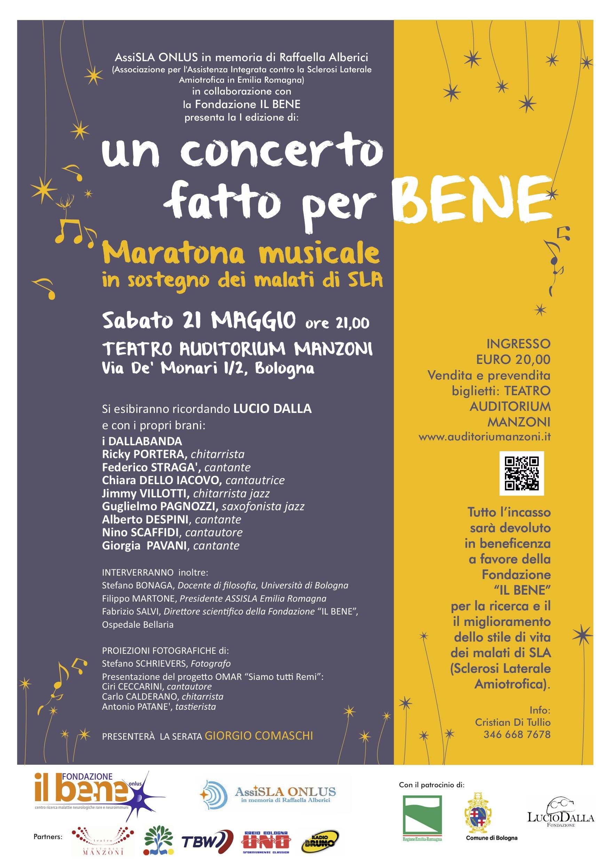 Un concerto fatto per BENE