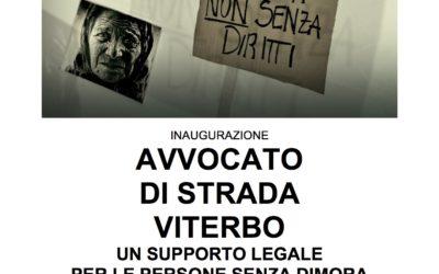 28.11.16 Inaugurazione Avvocato di strada Viterbo