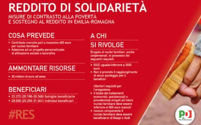 Via al reddito di solidarietà