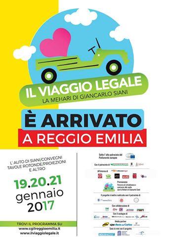 La Mehari di Giancarlo Siani a Reggio Emilia