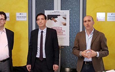 Le foto dell'inaugurazione di Avvocato di strada San Benedetto del Tronto