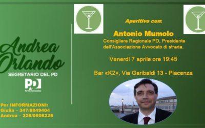 """07.04.17 Aperitivo del Comitato """"Piacenza per Orlando"""""""