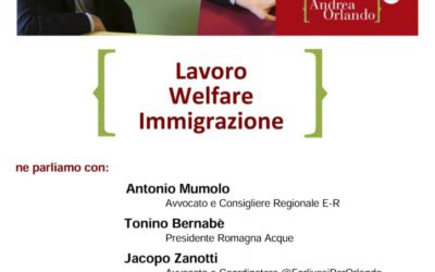 """23.04.17 Galeata: """"Welfare, lavoro, immigrazione"""""""