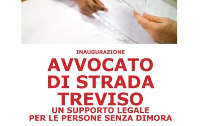 Inaugurazione Avvocato di strada Treviso