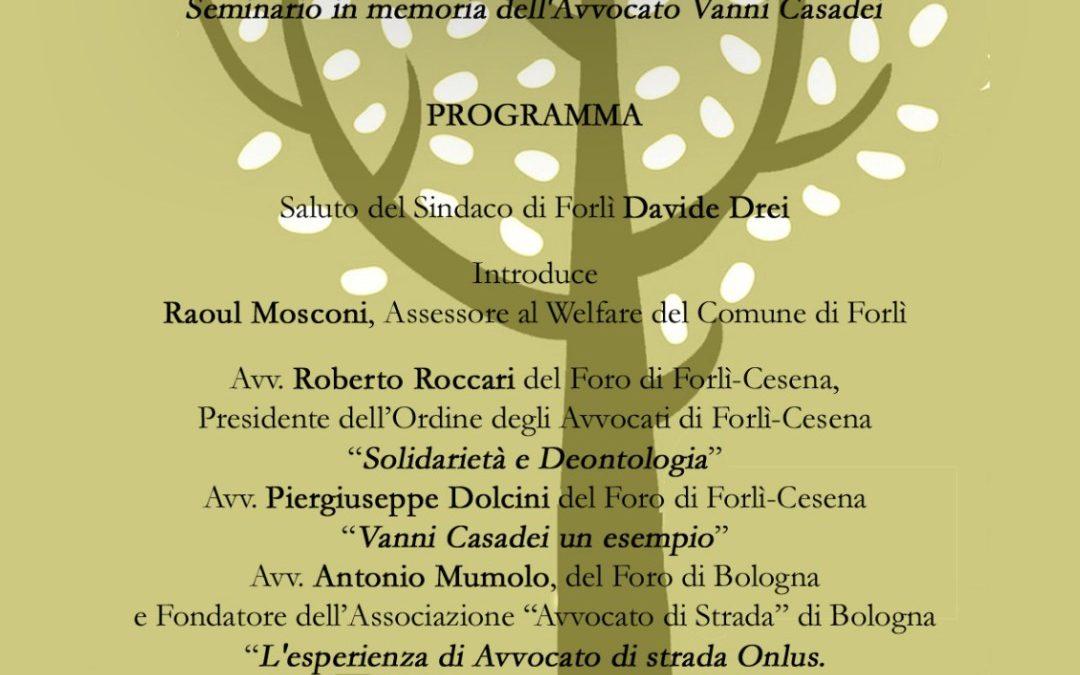 """18.05.18 Forlì: """"La strada degli avvocati? Avvocati al servizio di tutti"""""""