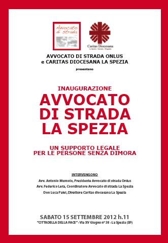 """11.10.13 A La Spezia. Convegno """"Il volontariato forense tra deontologia, diritti fondamentali e nuovo ruolo dell'avvocato"""""""