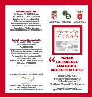 """01.03.13 Antonio Mumolo a Piacenza per il convegno """"La residenza anagrafica. Un diritto di tutti?"""""""
