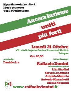 21.10.13 Con Raffele Donini al Circolo PD della Bolognina