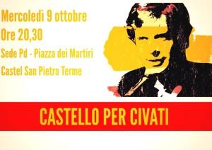09.10.13 Castel San Pietro: incontro con i sostenitori di Pippo Civati