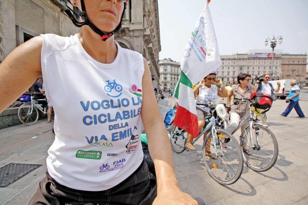 """Turismo e ambiente. Mumolo: """"La Regione realizzi la pista ciclabile della Via Emilia"""""""