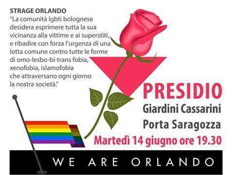 Presidio per la strage di Orlando