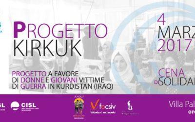 Una serata per il progetto Kirkuk