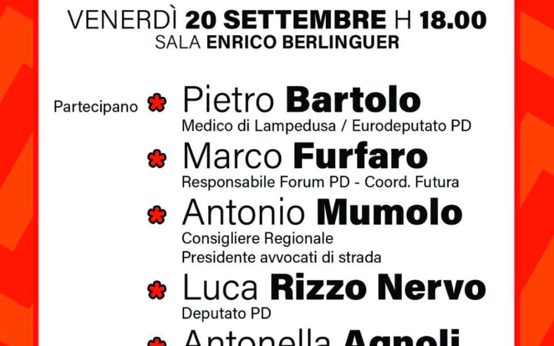 Immigrazione e diritti. Due eventi alla Festa Unità di Bologna