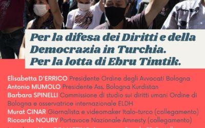Per la difesa dei diritti e della democrazia in Turchia
