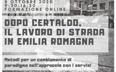 Dopo Certaldo, il lavoro di strada in Emilia-Romagna