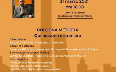 31.03.21 Parliamo di Bologna Dialoghi sulla cittadinanza con Matteo Lepore